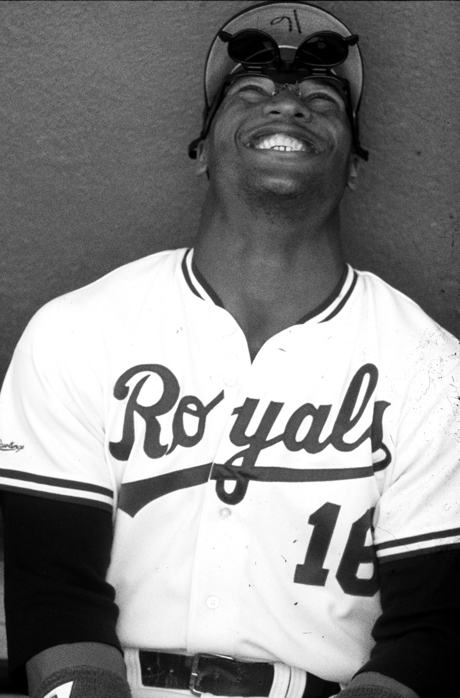 dd444af004 Bo Jackson played for the Kansas City Royals from 1986-1990. (Photo by Ron  Vesely/MLB Photos via Getty Images)